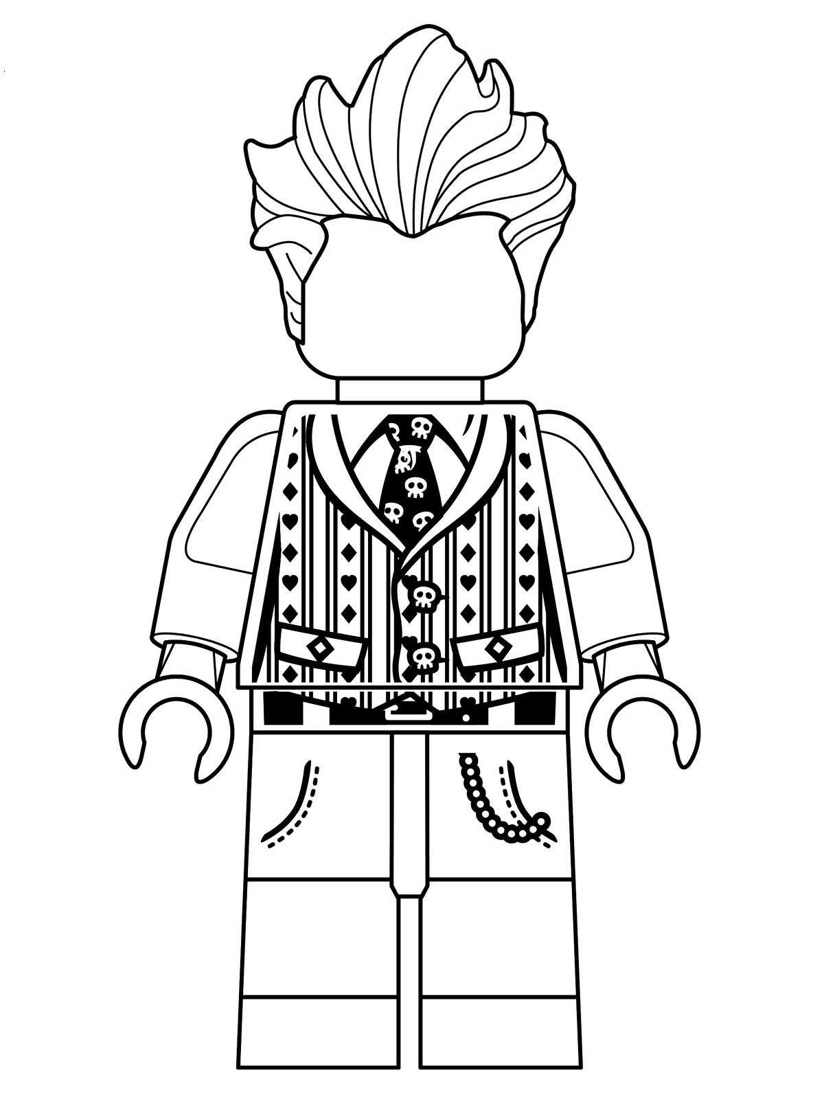 1200x1600 The Lego Movie Coloring Pages