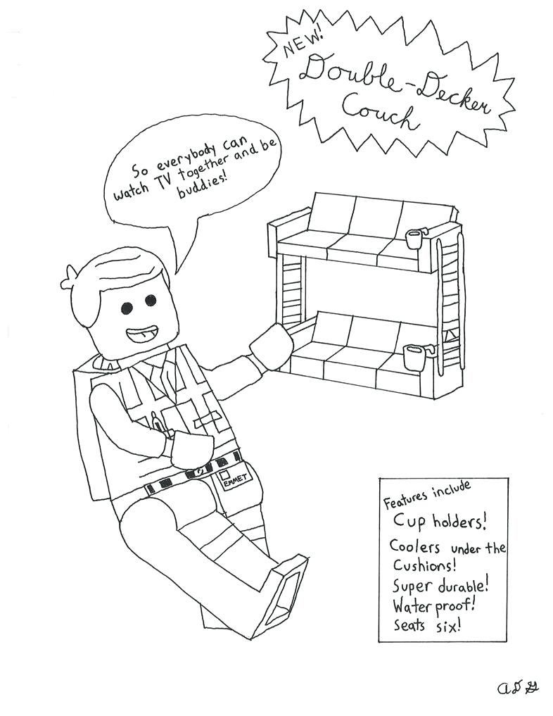 786x1017 Coloring Pages The Lego Movie Coloring Pages Bad Cop The Lego
