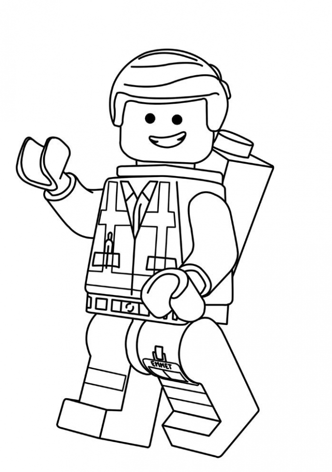 675x960 Get This Free The Lego Movie Coloring Pages !