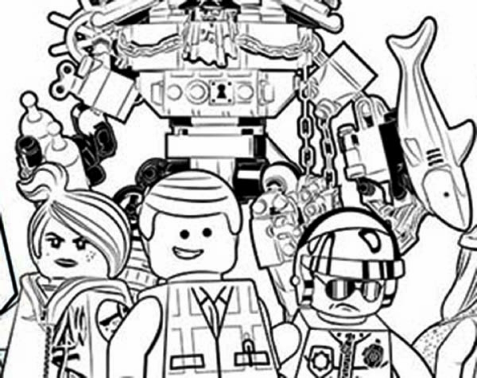 960x760 Get This Free The Lego Movie Coloring Pages To Print !