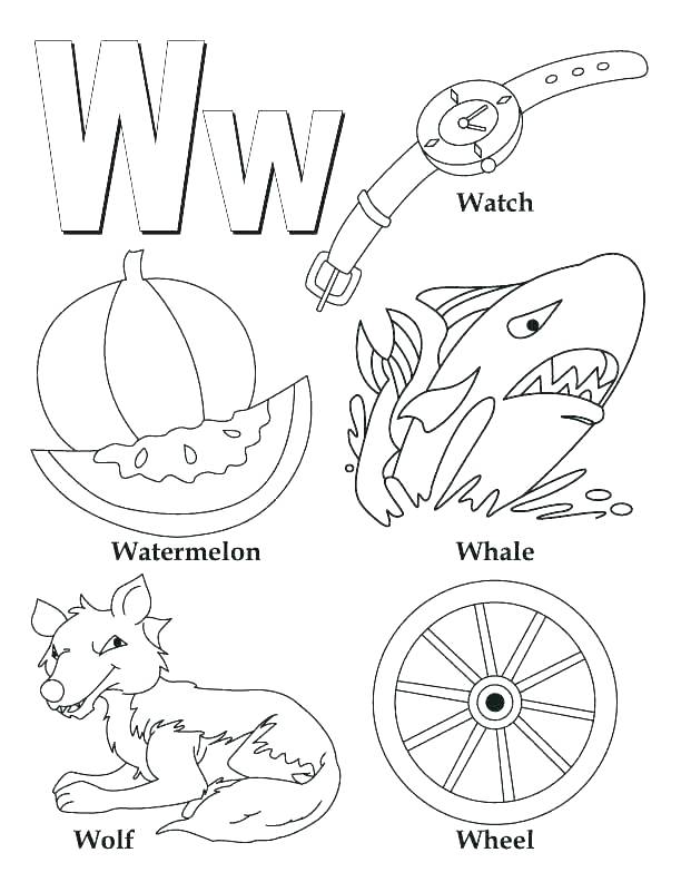 612x792 Letter G Coloring Pages For Toddlers Icontent