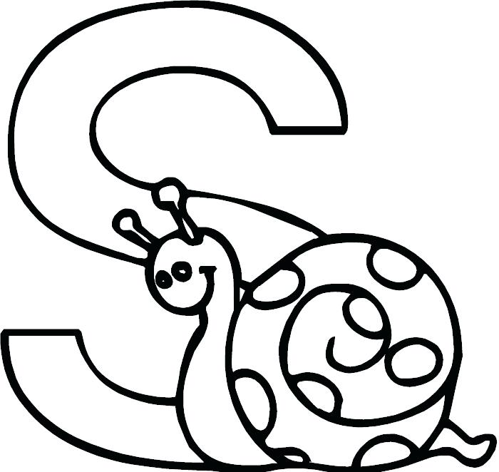 700x662 Letter S Coloring Pages Educational Coloring Pages