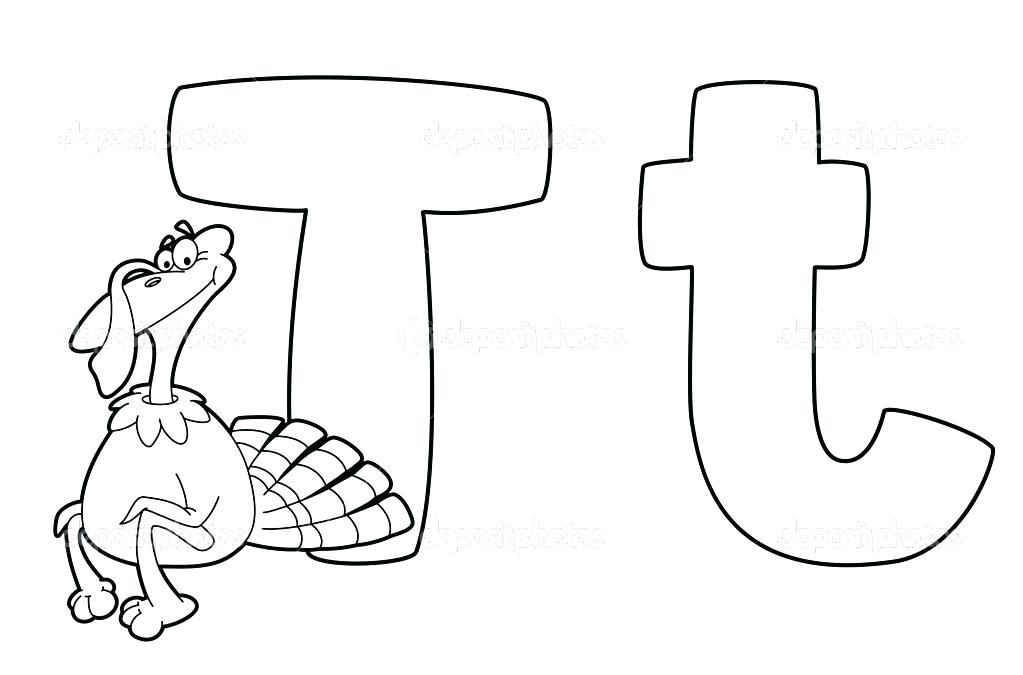 1023x675 Letter T Coloring Page Letter Coloring Pages Block Letter Coloring