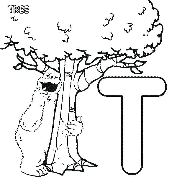 600x600 Letter T Coloring Page T Coloring Pages Letter Letter T Coloring