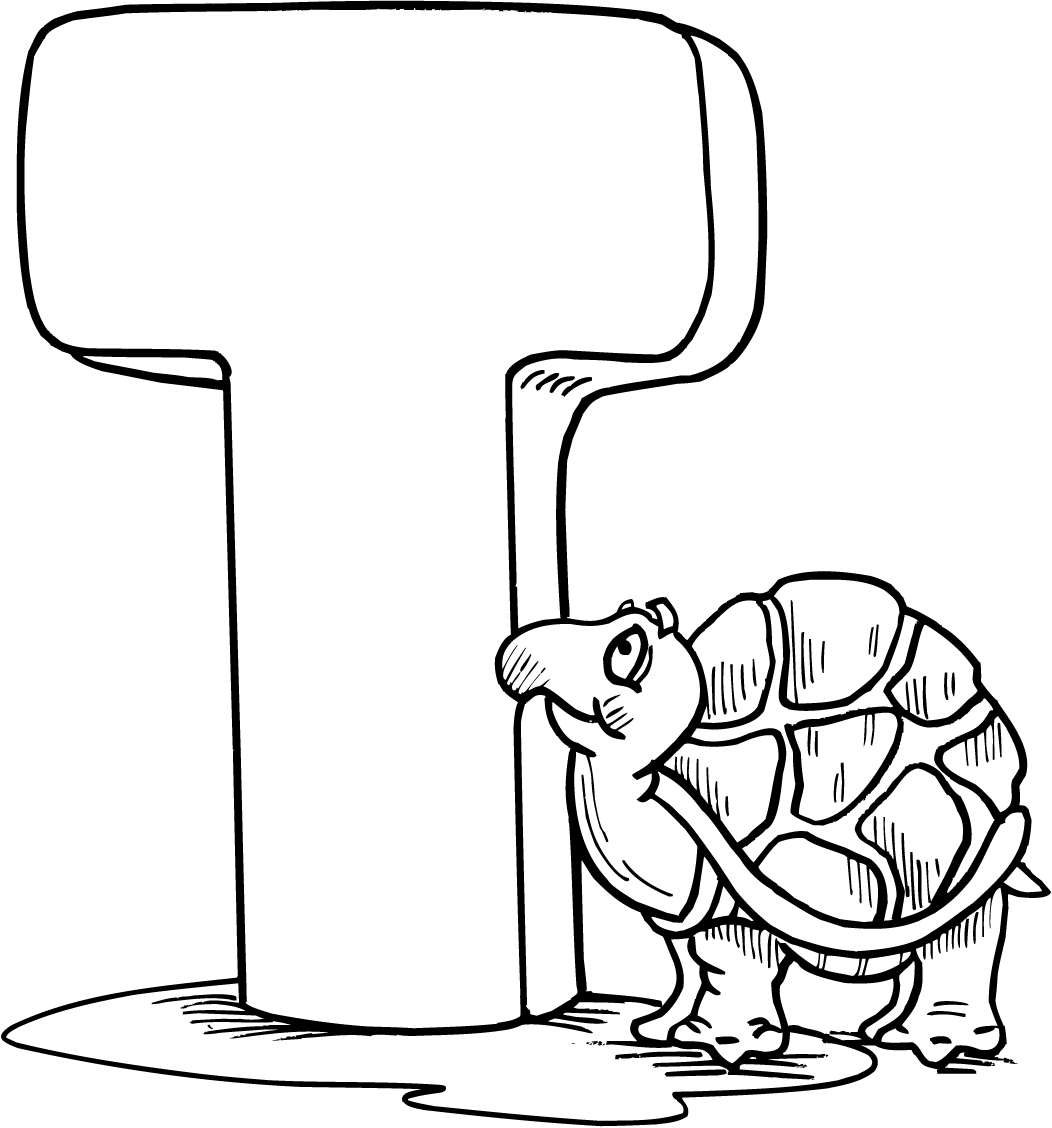 1052x1128 Letter T Coloring Pages Collection Coloring For Kids