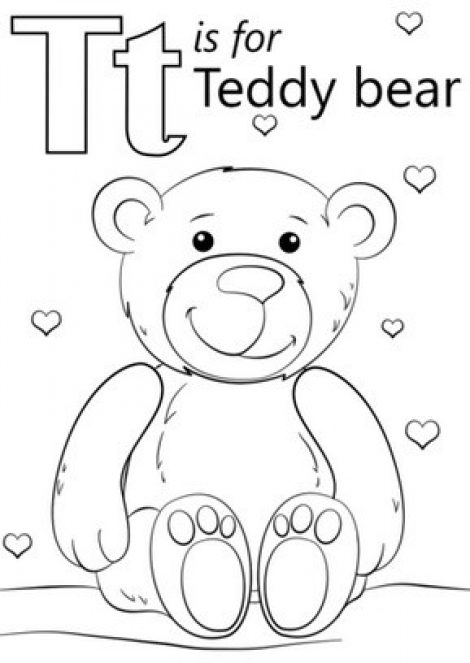 470x663 Letter T Coloring Pages Free Coloring Pages