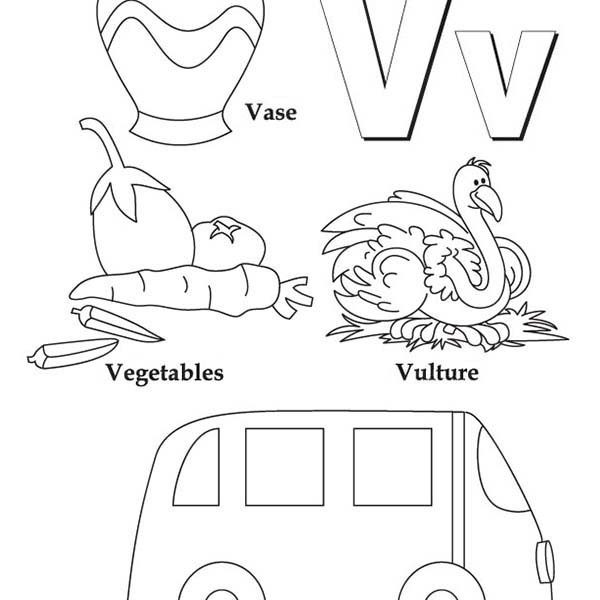 600x600 Letter V Coloring Pages Coloring Pages