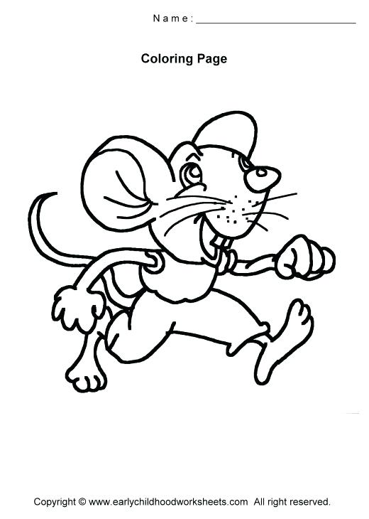 520x730 The Lion And The Mouse Coloring Pages Lion And Mouse Colouring