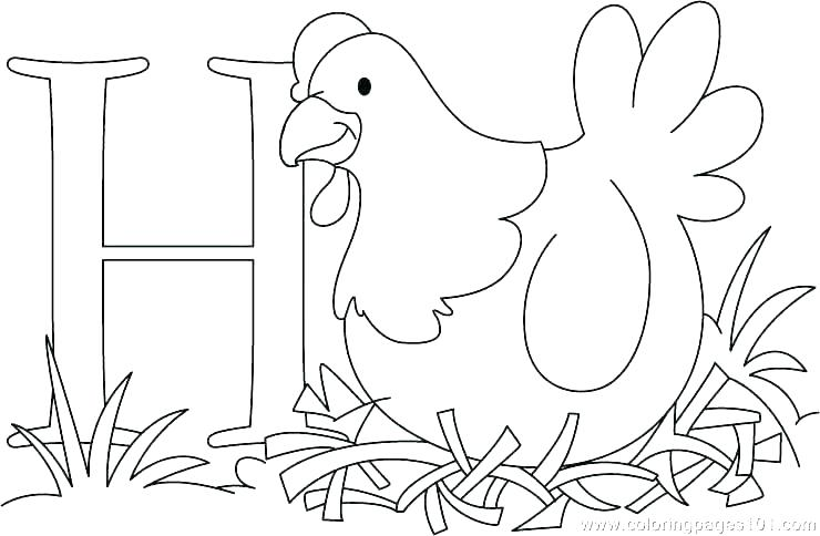740x484 Hen Coloring Pages Hen Coloring Page Hen Colouring Pages Free
