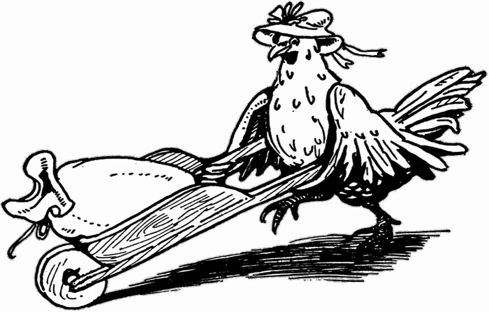 1600x1021 Free The Little Red Hen Coloring Page Pages Olegratiy