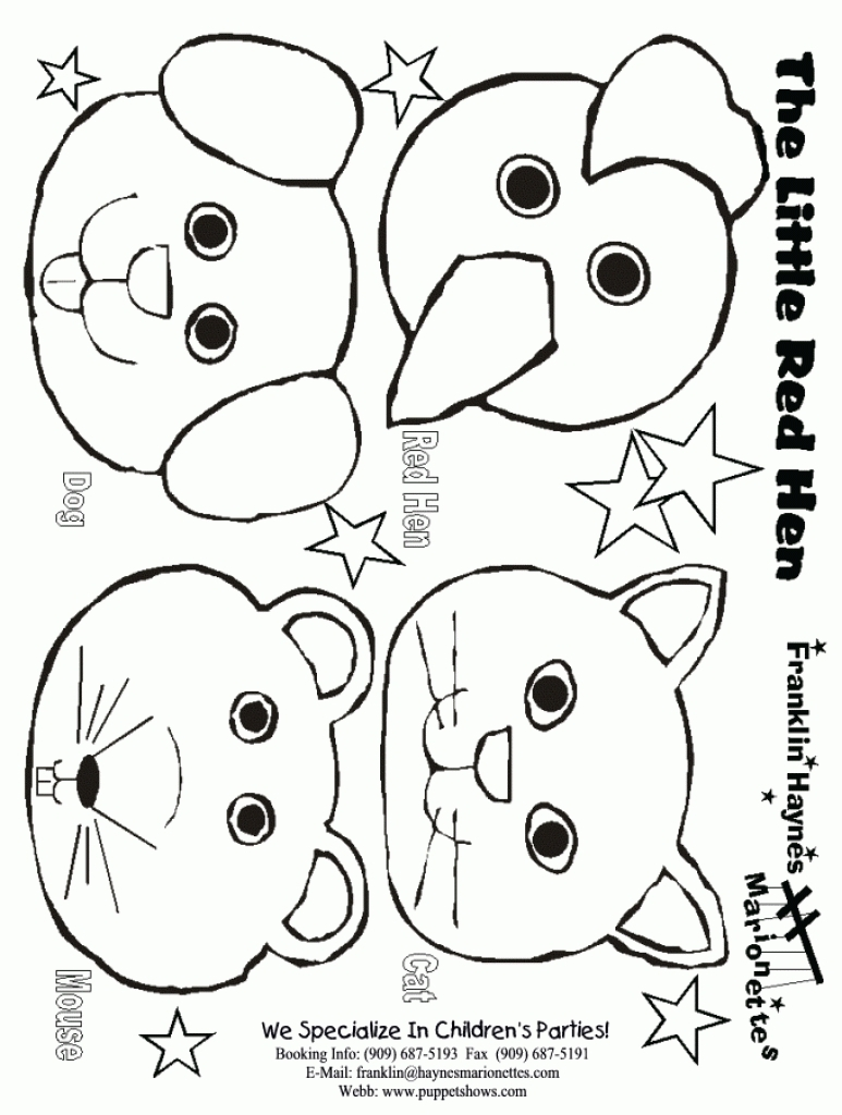 773x1024 Interesting The Little Red Hen Coloring Page Fresh Pages Design