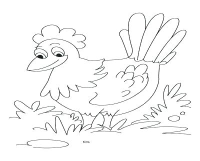 400x322 Little Red Hen Coloring Pages S Free Printable Little Red Hen