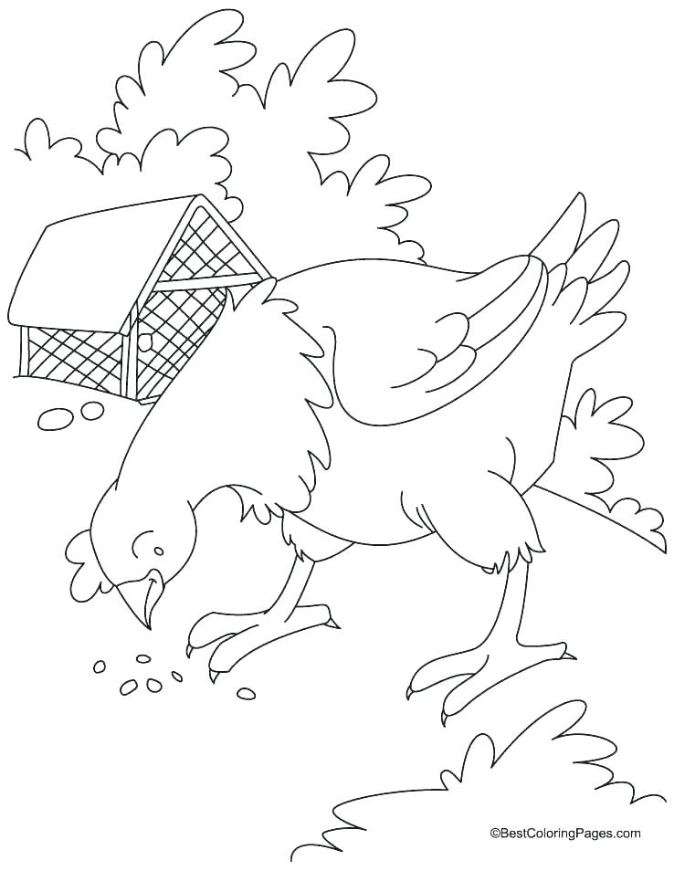 738x954 Red Hen Printables Hens Coloring Pages Hen Coloring Pages Vibrant