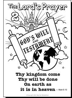 236x319 Pics Of Lord's Prayer Coloring Pages Printable