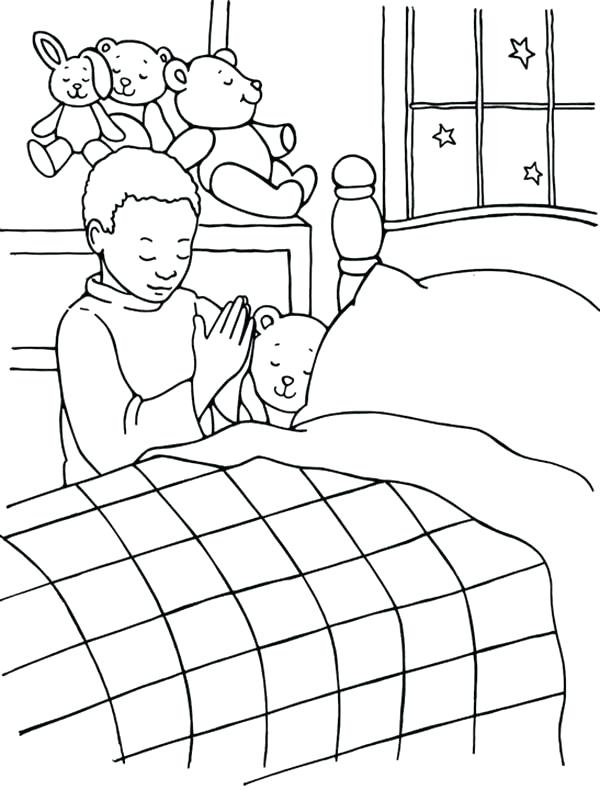 600x790 The Lords Prayer Coloring Pages Unsurpassed Bedtime Coloring Pages