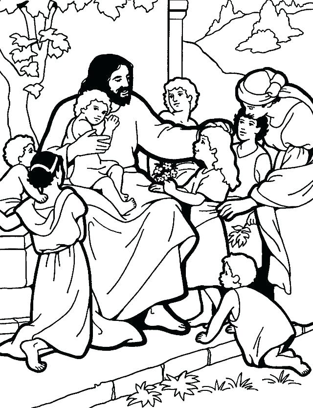 640x834 The Lords Prayer Coloring Pages Icontent