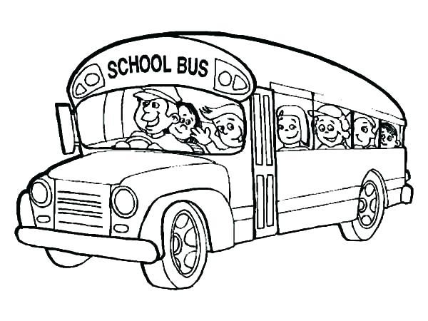 600x450 School Bus Coloring Page Magic School Bus Coloring Sheets Magic