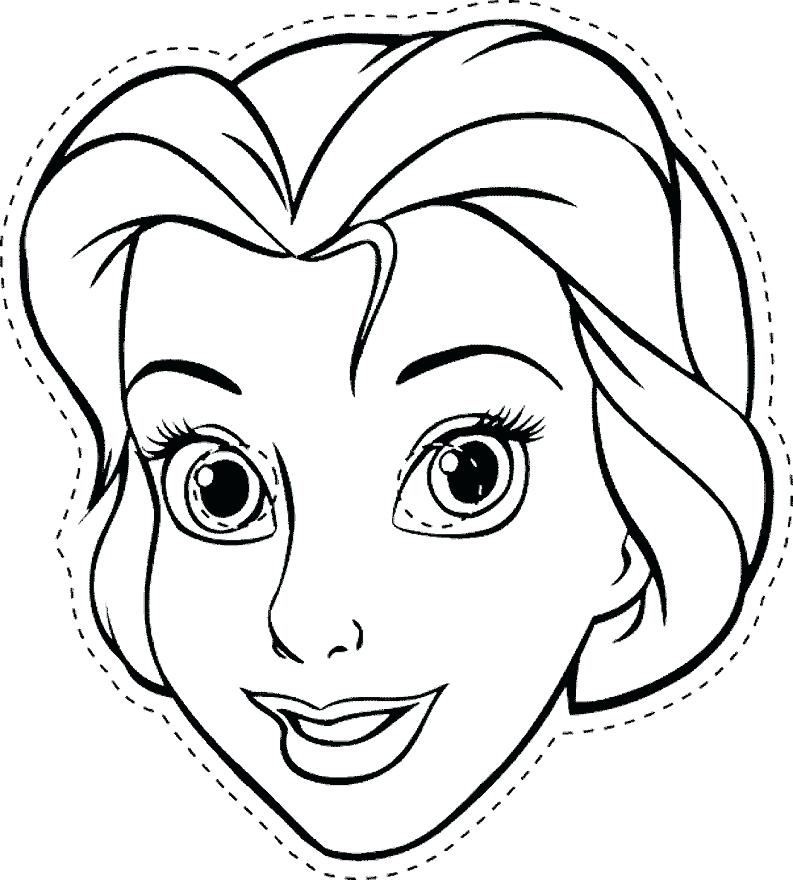 The Mask Coloring Pages