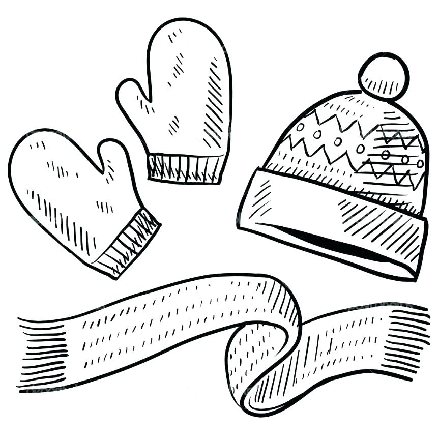 863x863 Mitten Coloring Sheet The Mitten Coloring Page Winter Hat Coloring