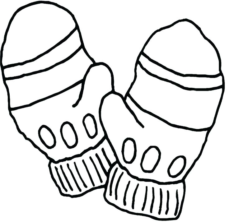 736x714 The Mitten Coloring Page Coloring Pages This Is Mitten Coloring