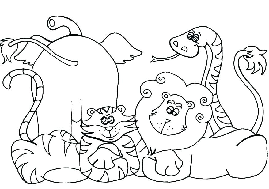 878x617 Catfish Coloring Page The Mitten Coloring Page Catfish Coloring
