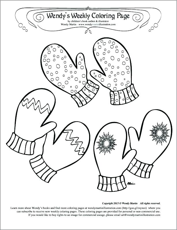 614x794 The Mitten Coloring Pages The Mitten Coloring Pages Coloring Page