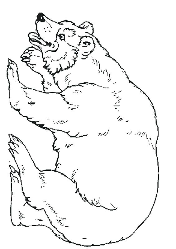 565x800 The Mitten Coloring Page