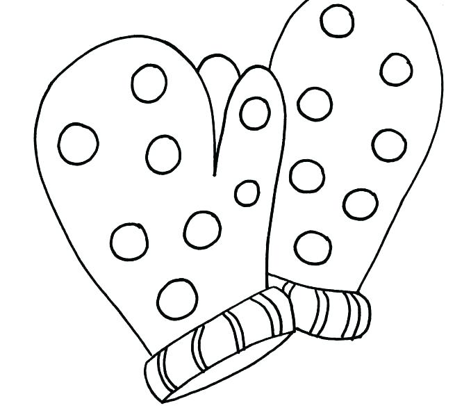 678x600 The Mitten Coloring Pages