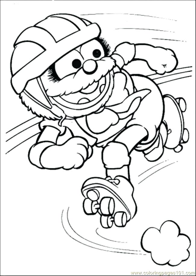 650x912 The Coloring The Coloring Pages Muppets Coloring Pages Printable