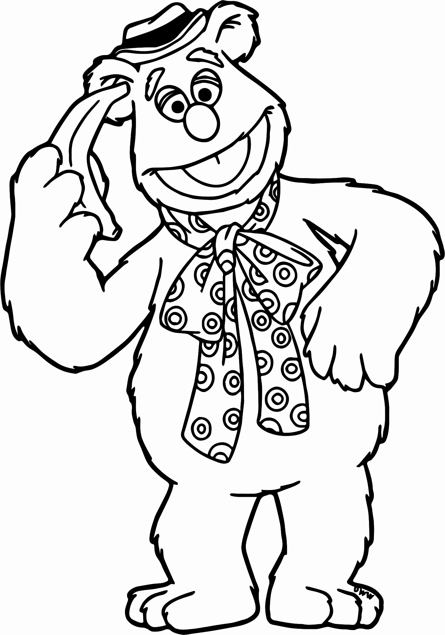 1446x2062 Free Printable Coloring Books Awesome The Muppets Beaker Fear