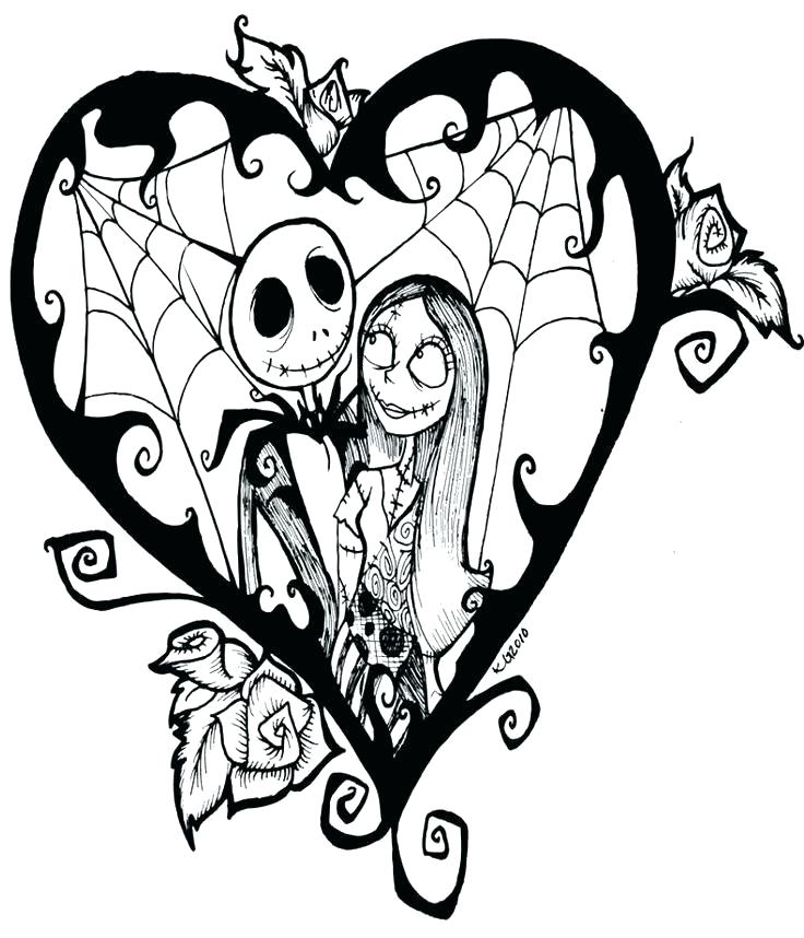 736x858 Night Before Christmas Coloring Pages Nightmare Before Coloring