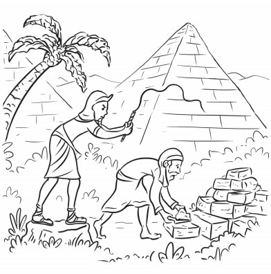 The Passover Coloring Pages
