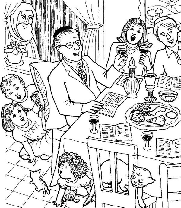 600x689 Passover Coloring Pages Printable Unique Best Passover