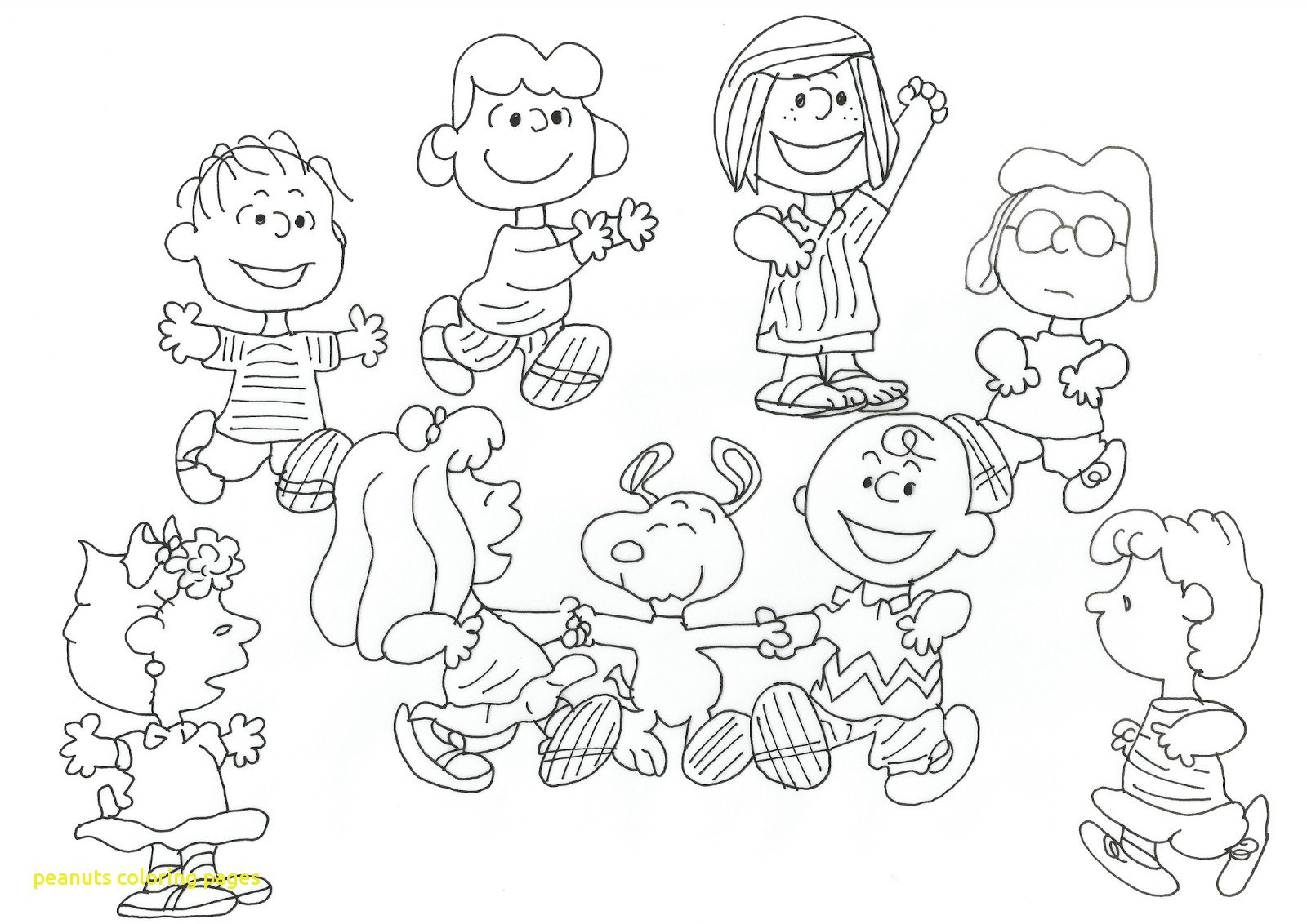 1600x1132 Peanuts Coloring Pages With Free Printable Snoopy Coloring Pages