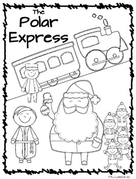 267x350 Polar Express Coloring Pages