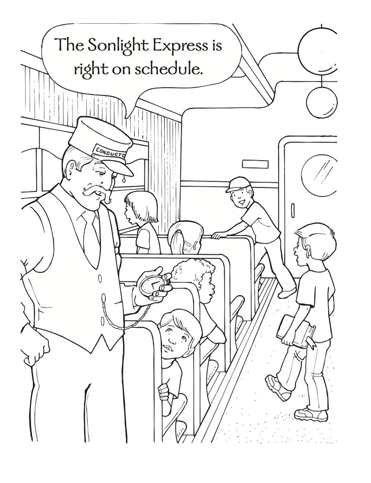 736x956 Polar Express Coloring Pages Paper Piecing, Craft And Xmas