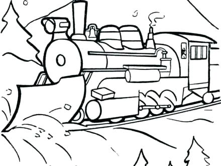 440x330 Polar Express Coloring Pages Kids Coloring Polar Express Coloring