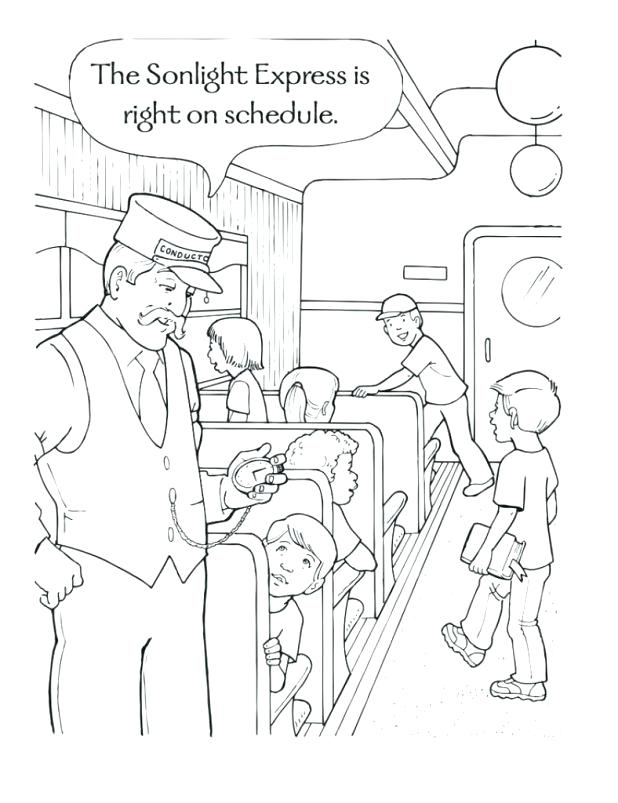618x803 Polar Express Coloring Pages The Polar Express Coloring Pages