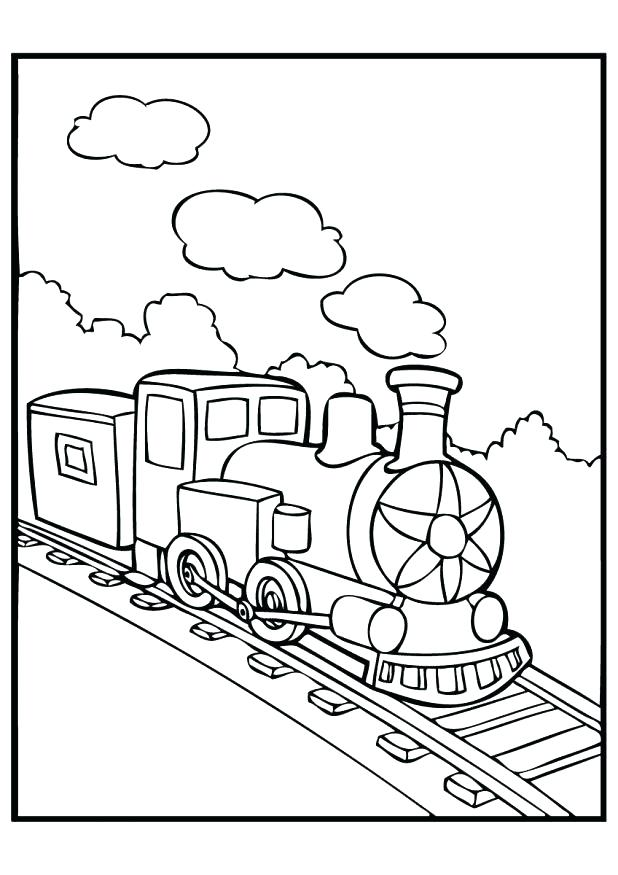 618x875 Polar Express Train Coloring Pages Polar Express Train Coloring