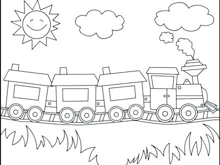 440x330 Polar Express Movie Coloring Pages Vanda