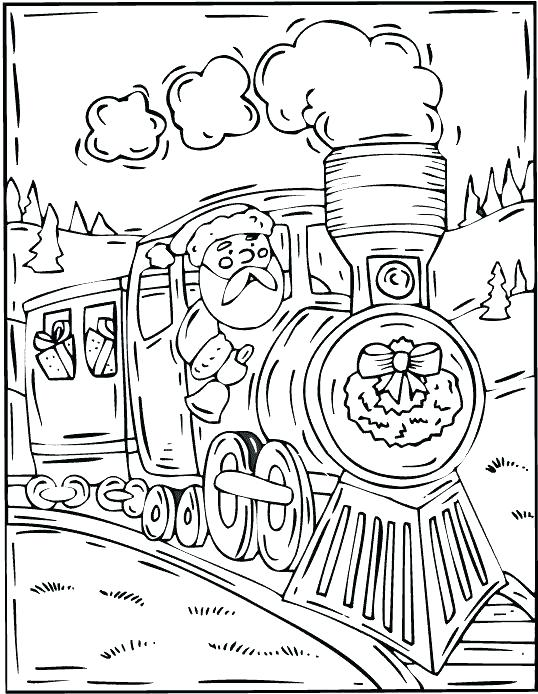 538x694 Polar Express Coloring Sheets Polar Express Train Coloring Pages