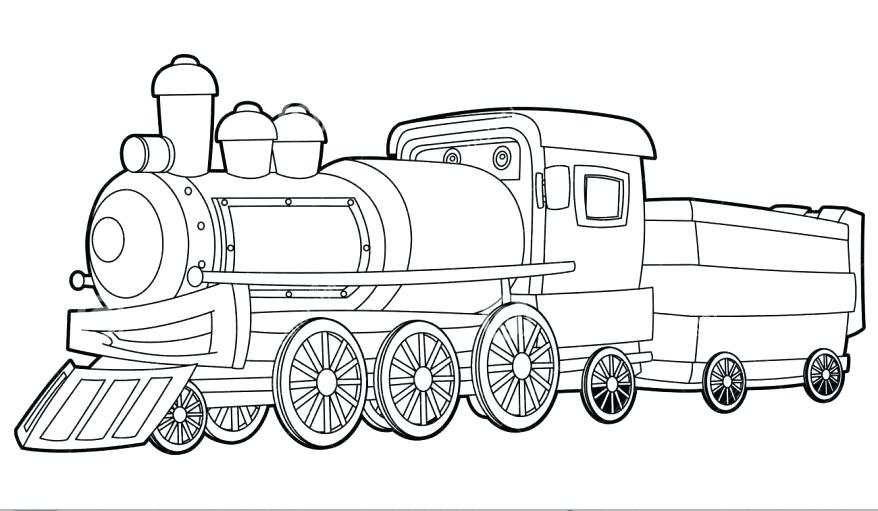 878x511 Polar Express Train Coloring Pages Coloring Polar Express Train
