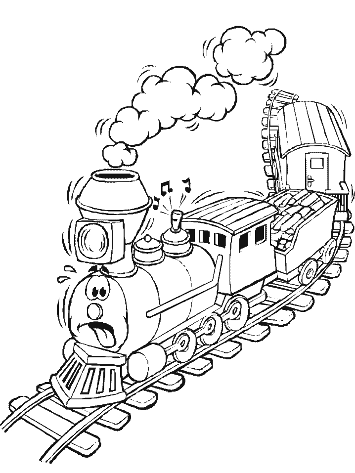 718x957 Polar Express Train Coloring Pages Custom Trains Transportation