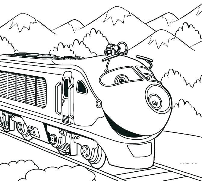 670x600 Polar Express Train Coloring Pages Free Coloring Page For Fans