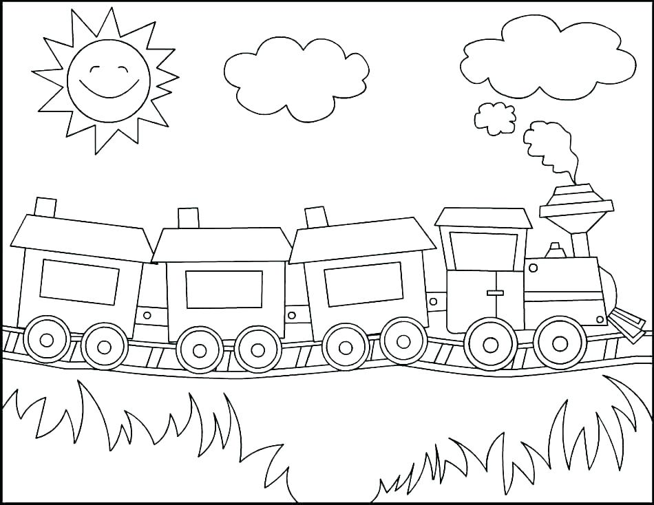 950x734 Polar Express Train Coloring Pages Trains Coloring Pages Polar