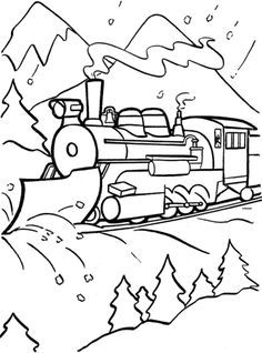 236x318 Polar Express Train Coloring Page Polar Express Day