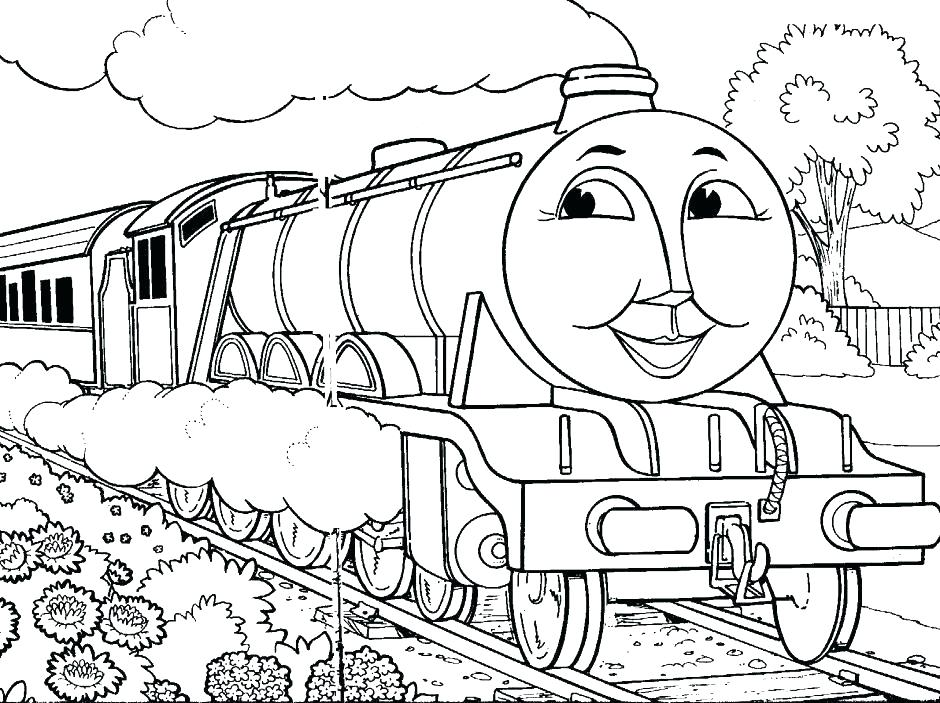 940x703 Polar Express Coloring Pages