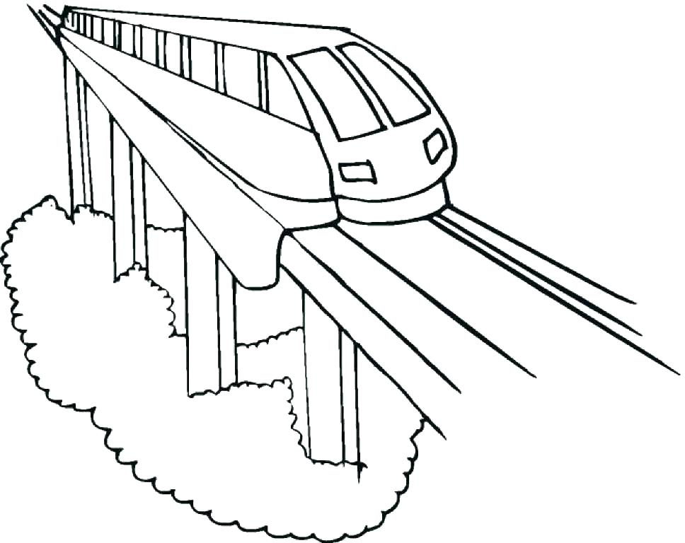 968x768 The Polar Express Coloring Pages