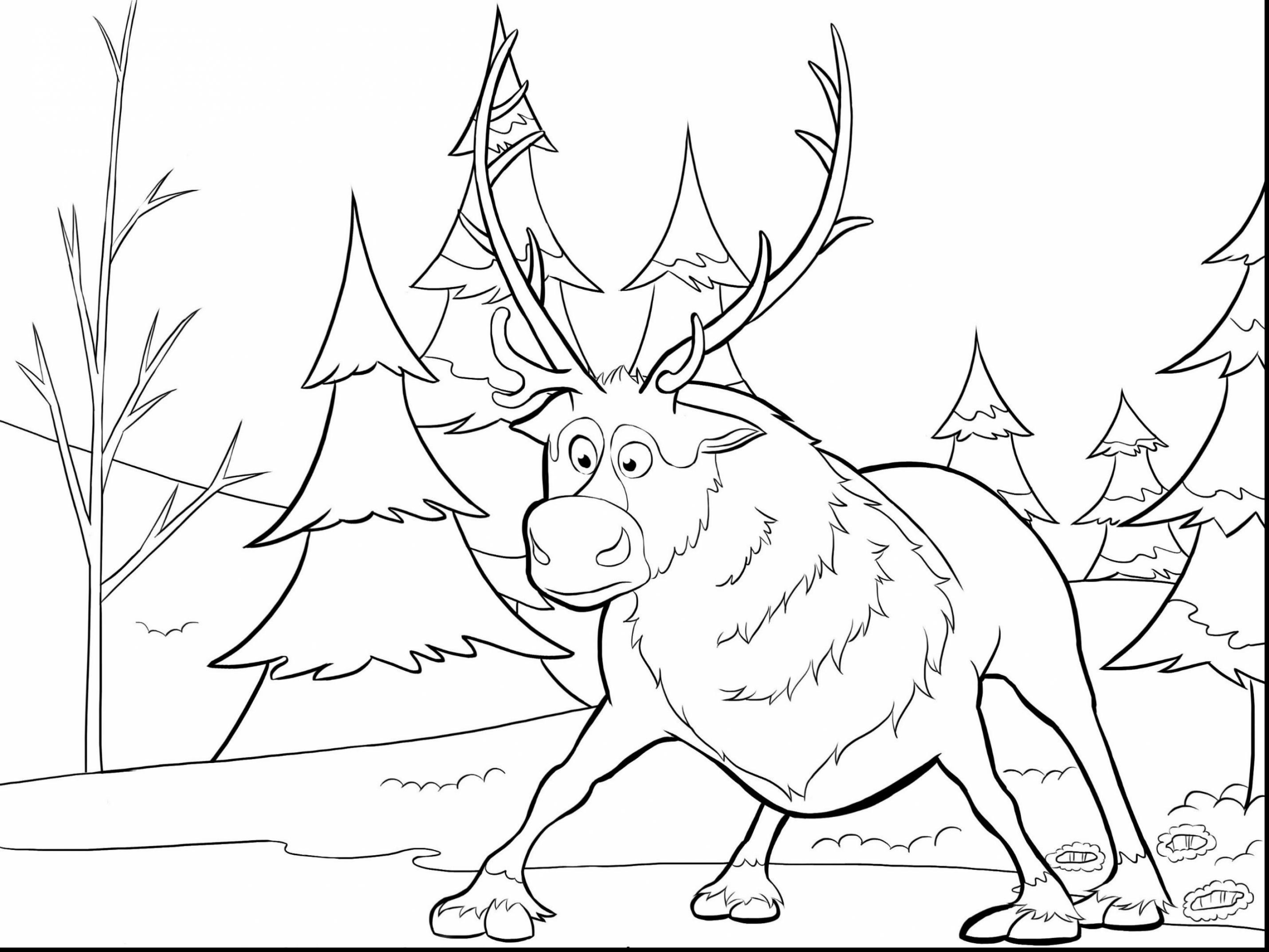 2861x2146 Polar Express Coloring Pages