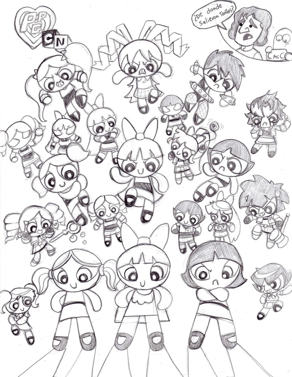 1024x1324 Free Printable Powerpuff Girls Coloring Pages For Kids Brilliant